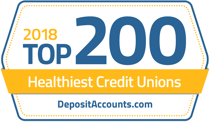 WGLFCU Named as One of the Top 200 Healthiest Credit Unions